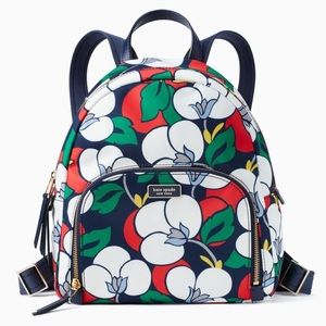 NWT Kate Spade Women's Dawn Breezy Floral Backpack